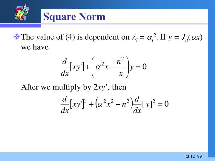 Square Norm