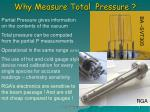 why measure total pressure