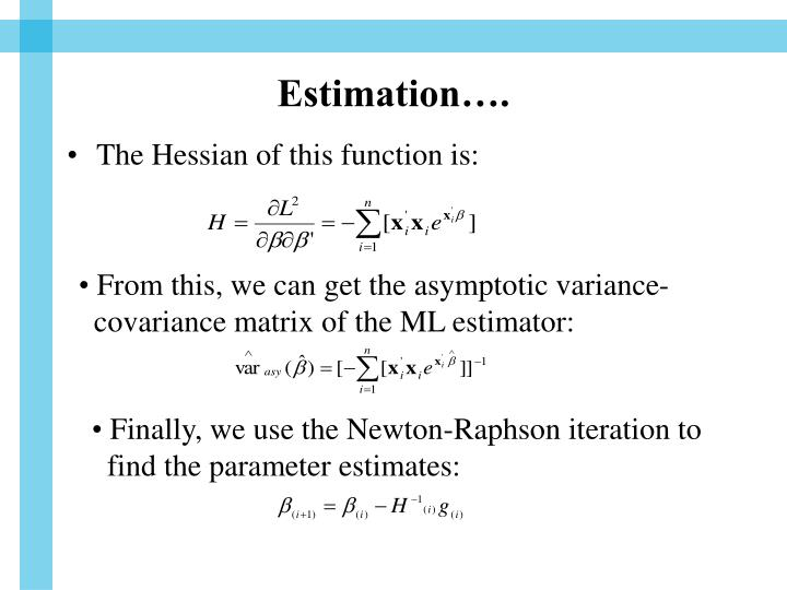 Estimation….