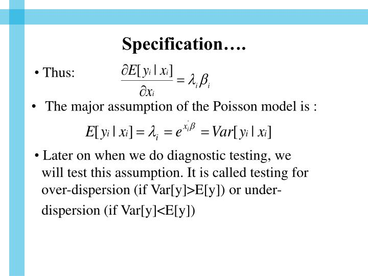Specification….