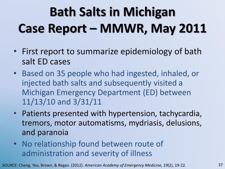 Bath Salts in Michigan
