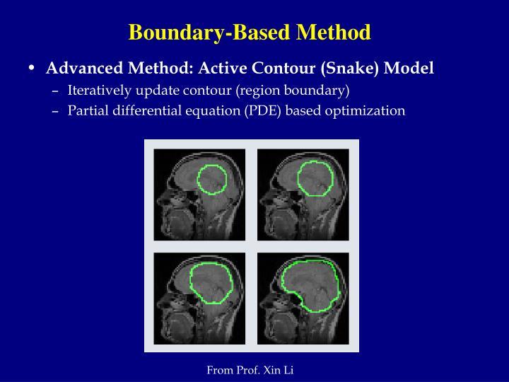 Boundary-Based Method