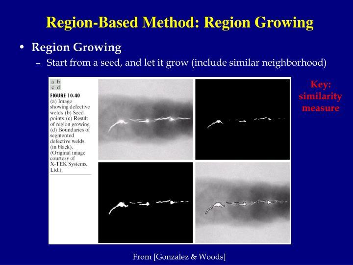 Region-Based Method: Region Growing