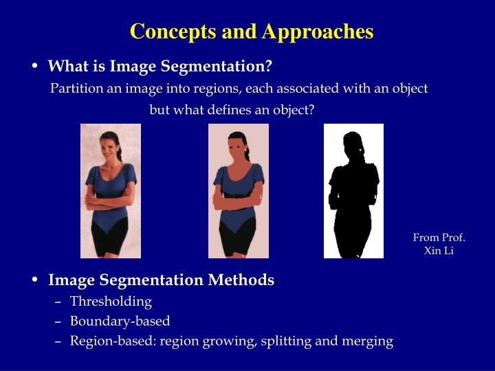 Concepts and Approaches