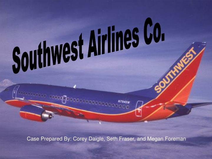 an assessment of southwest airlines The purpose of the safety and compliance oversight committee of southwest airlines co risk assessments.