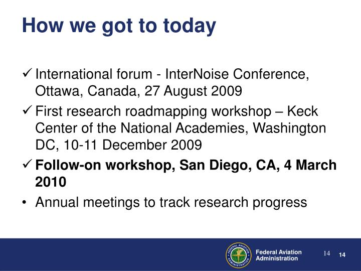 International forum - InterNoise Conference, Ottawa, Canada, 27 August 2009