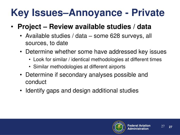 Project – Review available studies / data
