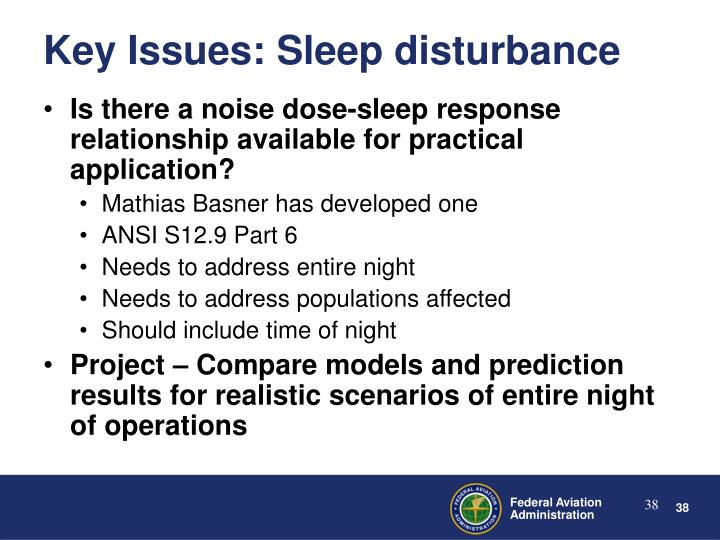 Is there a noise dose-sleep response relationship available for practical application?