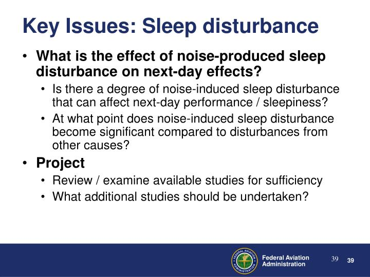 What is the effect of noise-produced sleep disturbance on next-day effects?