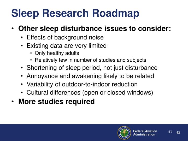 Other sleep disturbance issues to consider: