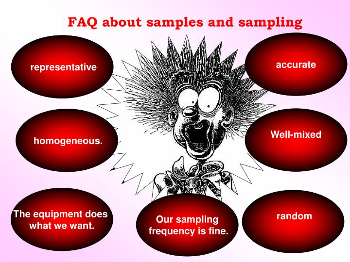 FAQ about samples and sampling