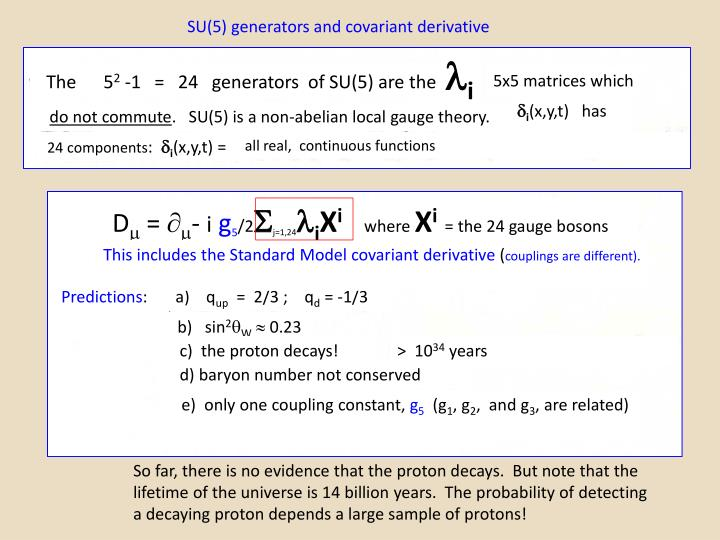 PPT - Grand Unified Theory, Running Coupling Constants and ...