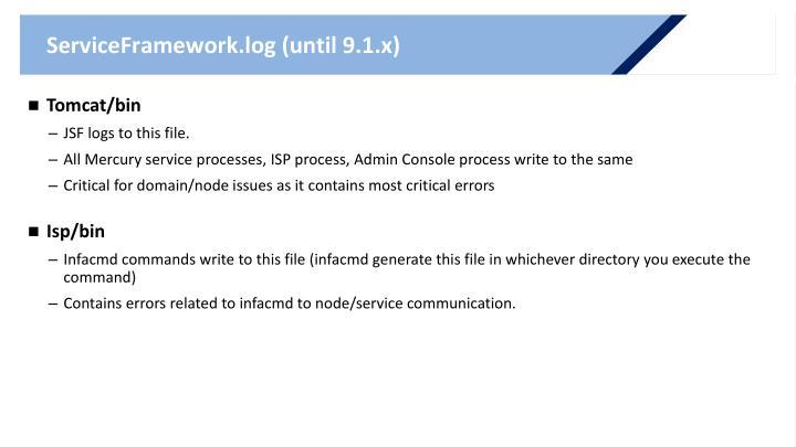 ServiceFramework.log (until 9.1.x)