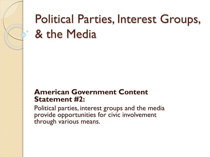 political parties 2 essay Lies: political parties essay political parties the issues that exist within political parties date back to the 1700's party lines and loyalty were drawn to the point of personal bitterness and public destructiveness.