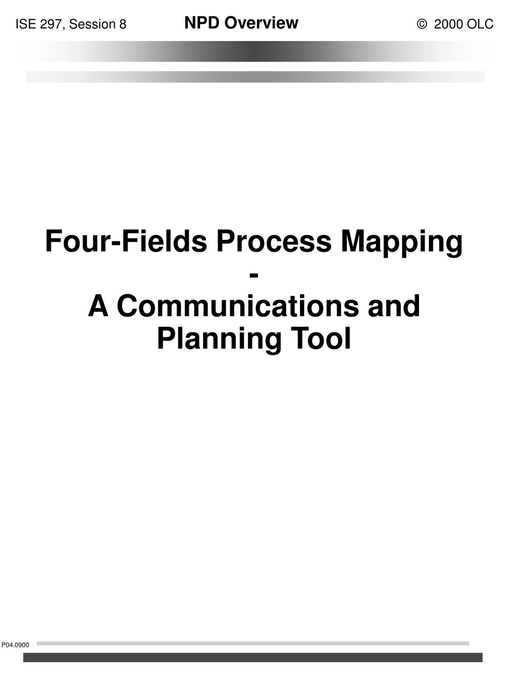 ppt four fields process mapping a communications and planning