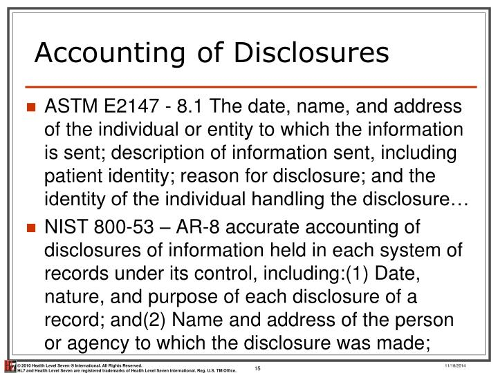 accounting information disclosure Quality of accounting information as a function of demand for public disclosure of (accounting) the role of financial reporting in reducing financial risks in.