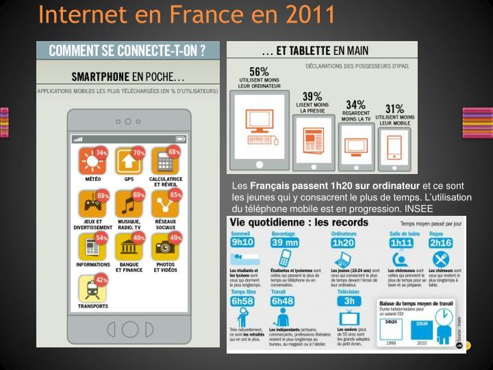 Internet en France en 2011