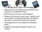 byot bring your own technology