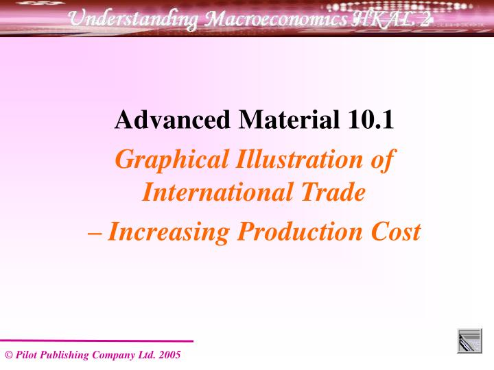 Advanced Material 10.1