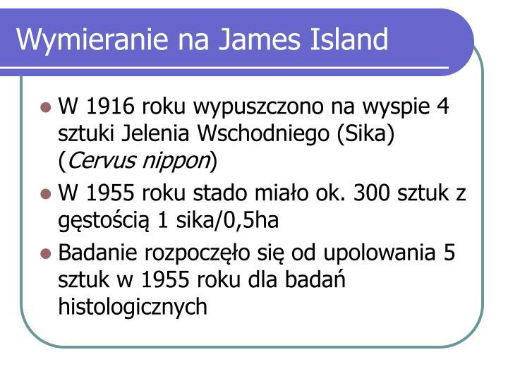 Wymieranie na James Island