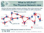 what is uclpv2 the physical network view