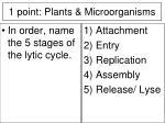 1 point plants microorganisms17