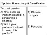 2 points human body classification11