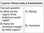 2 points human body classification6