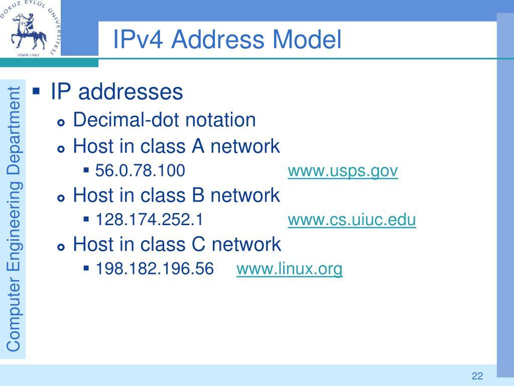 PPT - IP-Internet Protocol Addresses PowerPoint ...