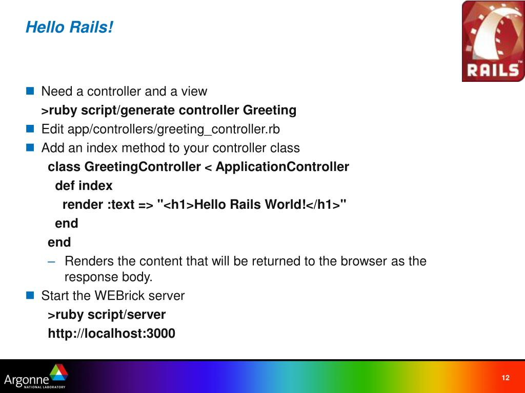 PPT - Ruby on Rails ::The New Gem of Web Development PowerPoint