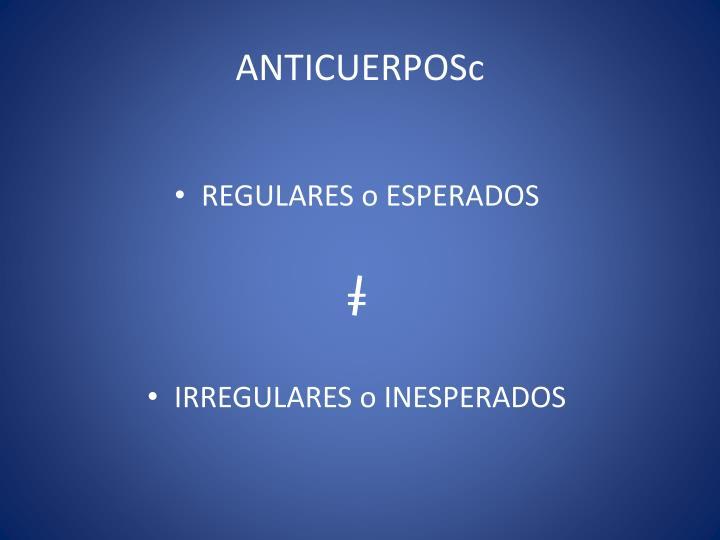 Anticuerposc