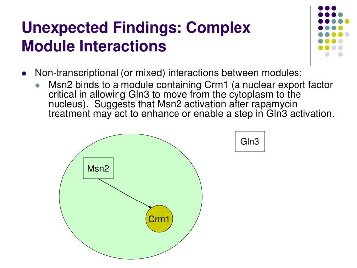 Unexpected Findings: Complex Module Interactions