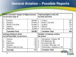 general aviation possible reports1