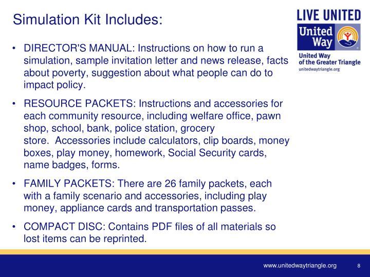 Simulation Kit