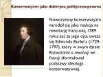 konserwatyzm jako doktryna polityczno prawna2