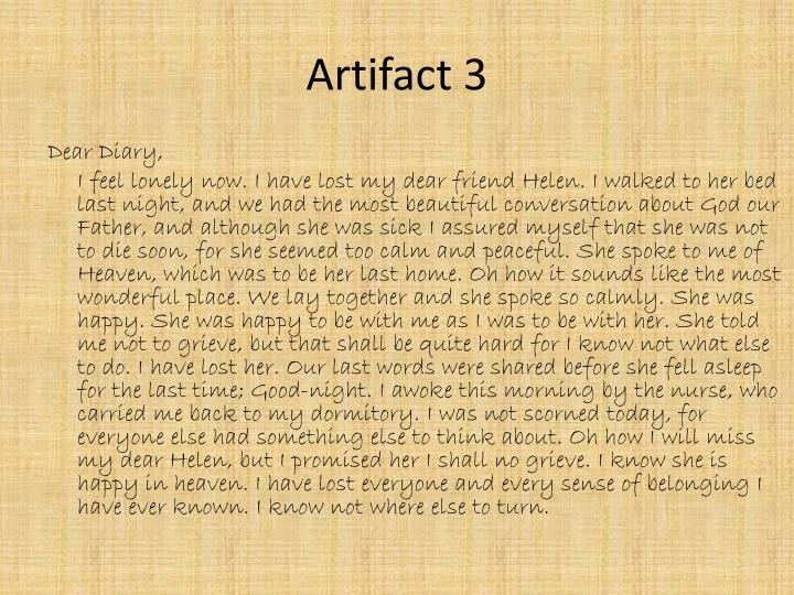 Artifact 3