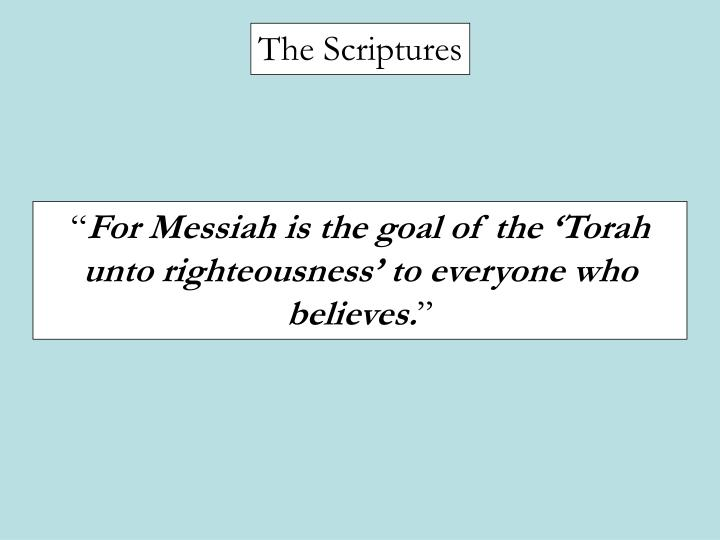 The Scriptures