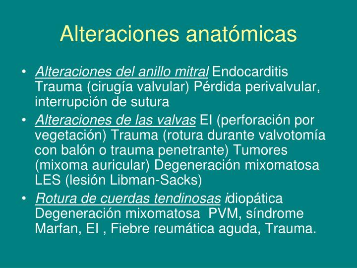 PPT - Valvulopatías PowerPoint Presentation - ID:6787351