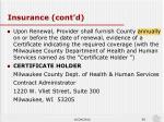 insurance cont d2