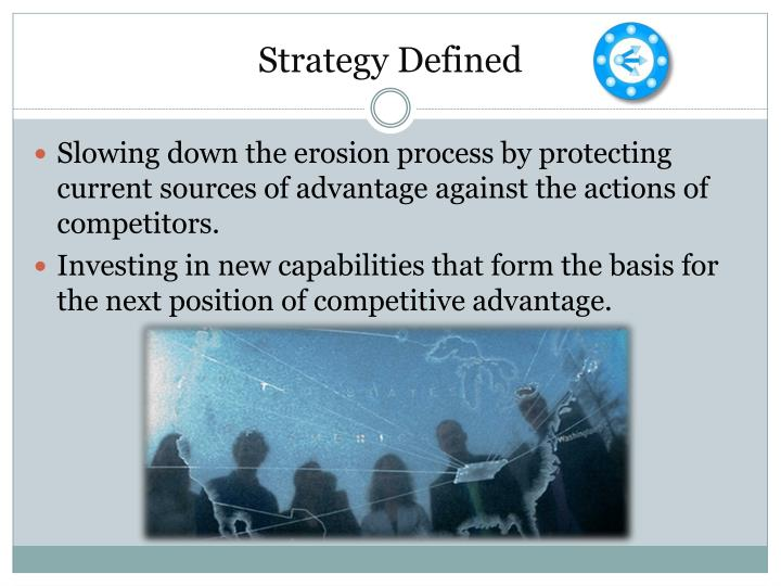 Strategy defined