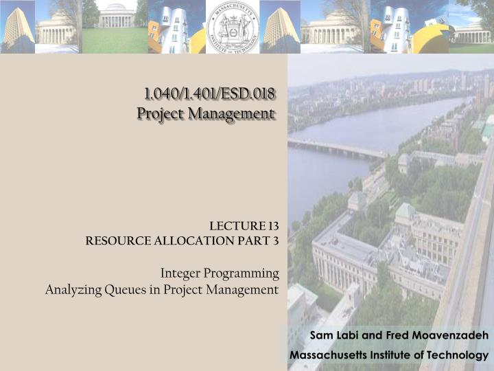 1 040 1 401 esd 018 project management n.
