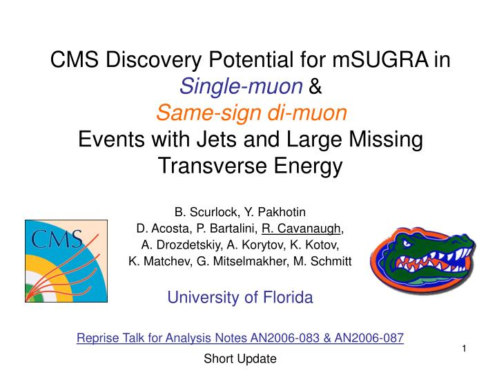 CMS Discovery Potential for mSUGRA in