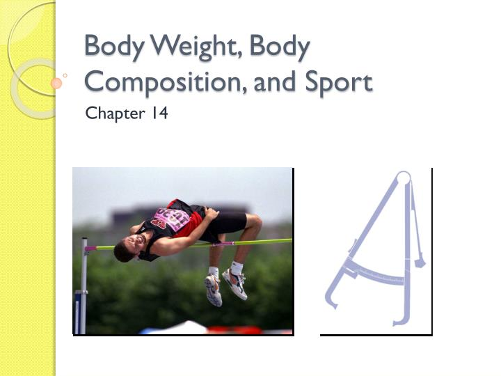 body weight body composition and sport n.