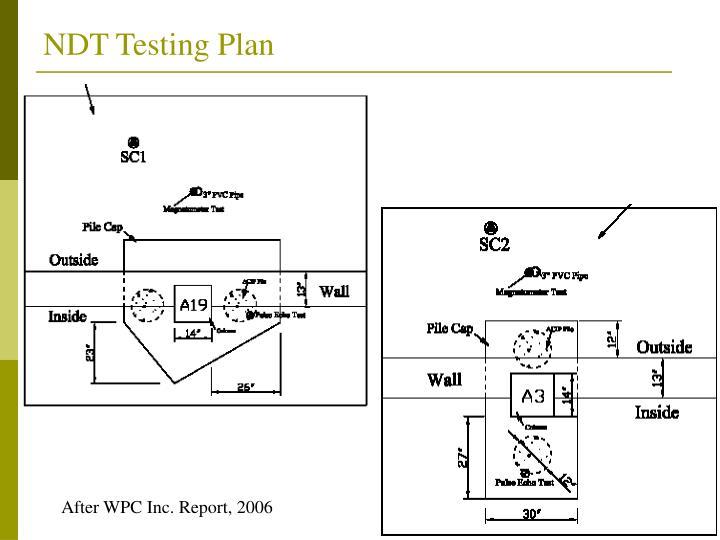 NDT Testing Plan