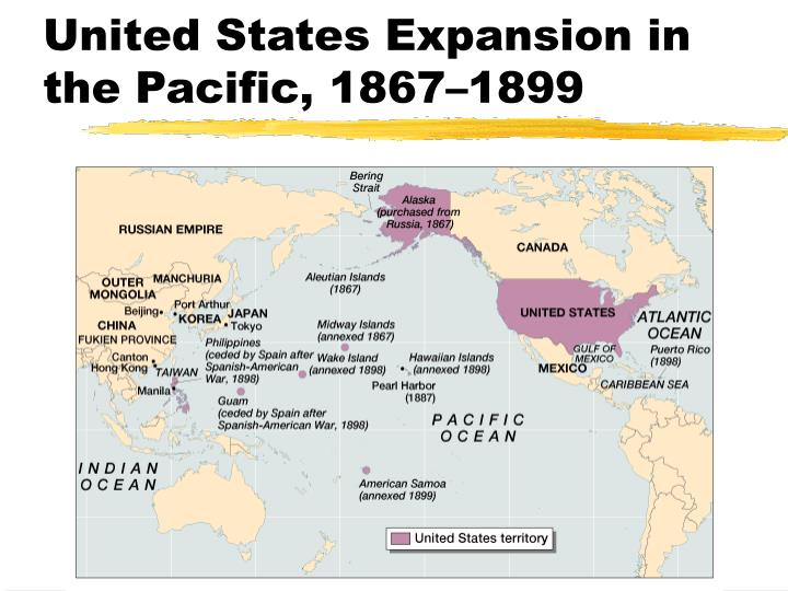 United states expansion in the pacific 1867 1899