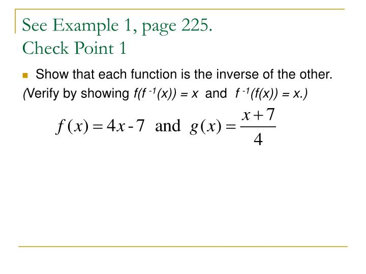 See Example 1, page 225.