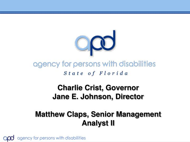 Charlie Crist, Governor