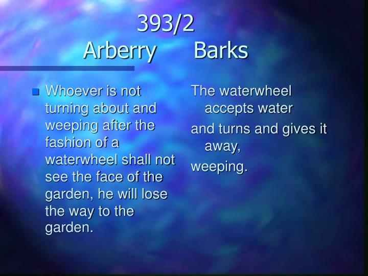393 2 arberry barks