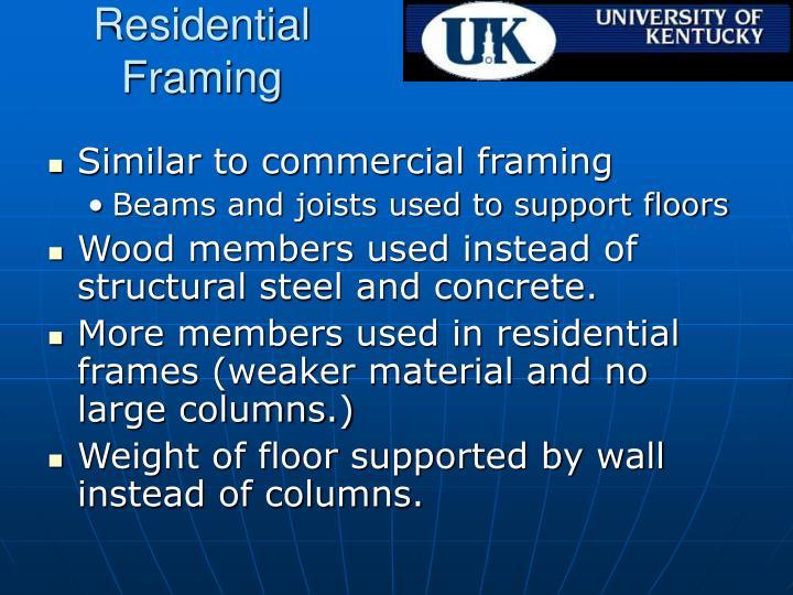 Residential Framing