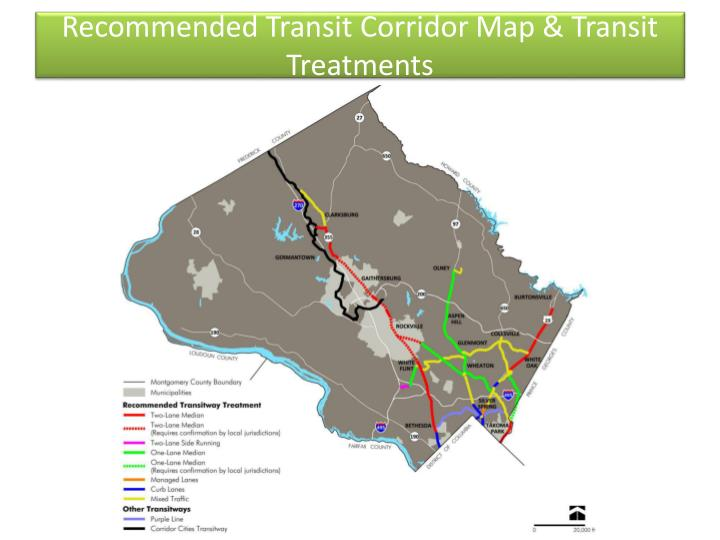 Recommended Transit Corridor